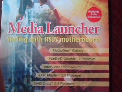 Driver Support Cd Asus Media Launcher Intervideo Windvd Suite Enhanced M857