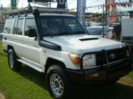 2009 Toyota Landcruiser VDJ76R 09 Upgrade Workmate (4x4) 5 Speed Manual Wagon Winnellie Darwin City Preview