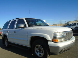 2003 Chevrolet Tahoe-LEATHER-SUNROOF-EXCELLENT RUNNING CONDITION Edmonton Edmonton Area image 1