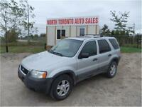 2003 FORD ESCAPE XLT / 4WD / LEATHER / ROOF RACKS!