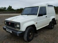 DAIHATSU FOURTRAK FIELDMAN TDL 2.8 DIESEL 4X4 VAN JEEP, PRIVATE PLATE, M.O.T EXPIRED, LOVELY RUNNER