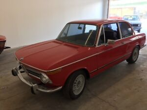 1972 BMW 2002Tii 90% PARTIAL RESTORATION