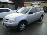 2005 Mitsubishi Outlander ZF MY06 LS Silver 4 Speed Sports Automatic Wagon St James Victoria Park Area Preview
