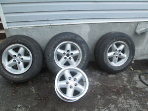 GOOD DEAL ON THREE TIRES SIZE 15