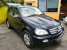 2005 Mercedes-Benz ML W163 350 Special Edition (4x4) Blue 5 Speed Auto Tipshift Wagon Islington Newcastle Area Preview