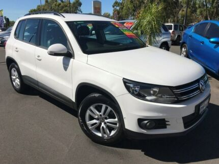2012 Volkswagen Tiguan 5N MY12.5 132TSI Tiptronic 4MOTION Pacific White 6 Speed Sports Automatic Bunbury Bunbury Area Preview