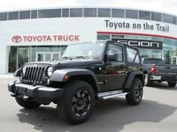 2014 Jeep Wrangler Leather, 2 Tops $0 down $188bi weekly o.a.c