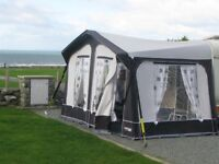 Awning for a two birth Caravan. Located in SA9 Near Ystradgynlais