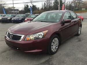 2008 Honda Accord  NEW MVI,4 CYL GOOD ON GAS, NEW WINTER TIRES