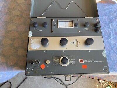 Leeds And Northrup 8686 Is A Millivolt Potentiometer