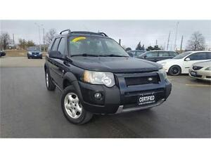 2005 Land Rover Freelander SE, Accident Free, Certified