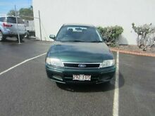 2001 Ford Laser KQ SR Green 4 Speed Automatic Hatchback Buderim Maroochydore Area Preview