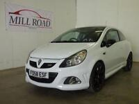 VAUXHALL CORSA 1.6 i Turbo 16v VXR Arctic Edition 3dr 339 OUT OF (white) 2008
