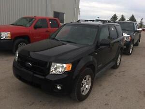 2008 Ford Escape Limited Leather! Navigation! 93KM!! Clean Title