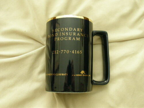 J.J. Kenny Trading Inc. Bond Insurance Mug Excellent for Coffee, Tea, Cocoa
