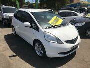 2008 Honda Jazz GE MY09 GLi White Automatic Hatchback Lidcombe Auburn Area Preview