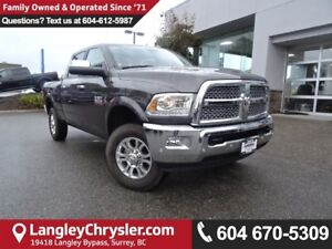 2017 RAM 3500 Laramie *DEMO CLEAR OUT* ACCIDENT FREE*