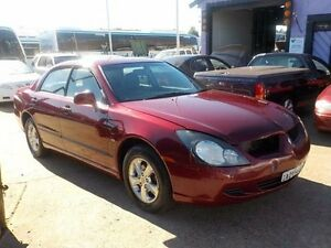 2003 Mitsubishi Magna TL ES Maroon 4 Speed Sports Automatic Sedan North St Marys Penrith Area Preview