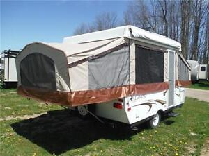 2011 Palomino Y4102 10' Tent Trailer with roof mounted bike rack Stratford Kitchener Area image 3