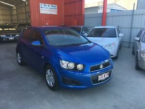 2011 Holden Barina TM Blue 5 Speed Manual Hatchback Clontarf Redcliffe Area Preview