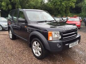 Land Rover DISCOVERY 3 2.7 TD V6 HSE 5dr FULL SERVICE HISTORY,7 SEATS