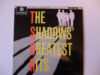 The shadows Greatest Hits LP