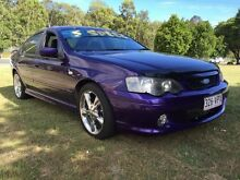 2003 Ford Falcon BA XR6 Purple 5 Speed Manual Sedan Clontarf Redcliffe Area Preview