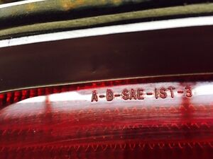 1973 - 1974 Javelin RH Rear tail light   -  very nice Regina Regina Area image 2