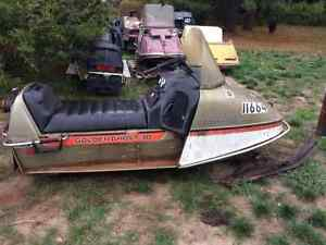 1974 Johnson Golden Ghost 30 - Project Snowmobile