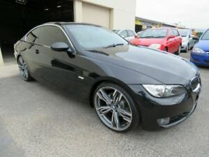2007 BMW 323i E92 Black 6 Speed Auto Steptronic Coupe Werribee Wyndham Area Preview