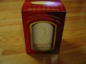 Tim Hortons limited edition metal canister coffee storage NEW