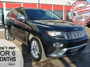 2014 Jeep Grand Cherokee SUMMIT, UNDER 86,000 KMS