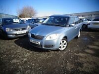 2008(58reg)Skoda Fabia 1.4 Petrol Estate Car New Model £995