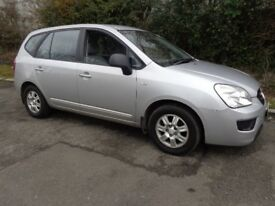 2009(58reg) Kia Carens Comes with Private Reg No J70 TTT £1395