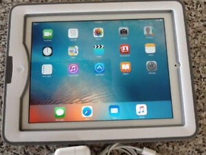 APPLE IPAD 2-16GB-in LIFEPROOF CASE-with CHARGER-ex cond.- $150.