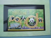 Stamp - Hong Kong Giant Pandas 1999 Mint Sheetlet $10 - in Cardboard Printed Folder