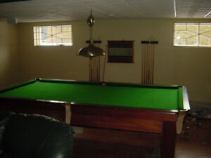 TABLE DE BILLARD BRUNSWICK