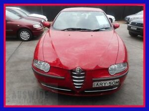 2004 Alfa Romeo 147 Red Manual Hatchback Villawood Bankstown Area Preview