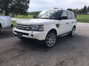 Land Rover, Range Rover Sport Supercharged!! Alaskan White Mint