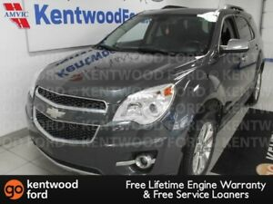 2010 Chevrolet Equinox LTZ AWD with sunroof power leather seats