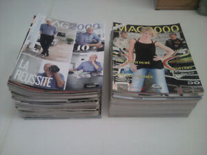 Collection de 52 Magazines Mag 2000 neuf (Mauricie)
