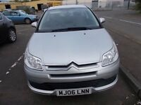 CITROEN C4 1.6 VTR 3 DOOR COUPE 06 REG,, NICE CLEAN CAR ,, GOOD DRIVER,, MOT JUNE 2018