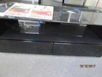 *+NADZ*BRAND NEW Levv Premier Range*Free Delivery* High BLACK Gloss TV Cabinet for UPTO 44 inches*+