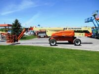 125 Foot JLG Boom Lift For Rent