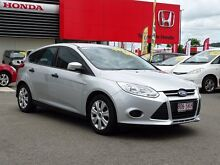 2012 Ford Focus LW Ambiente PwrShift Silver 6 Speed Sports Automatic Dual Clutch Hatchback Garbutt Townsville City Preview