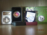 Silver coins numismatic