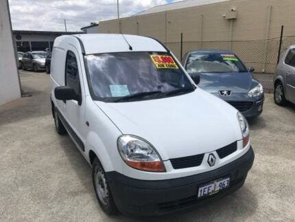 2005 Renault Kangoo F76 White 5 Speed Manual Van St James Victoria Park Area Preview