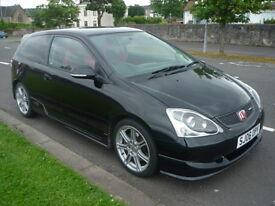 Honda Civic 2.0 I-VTEC TYPE R **Rare Model / Full Service History** (black) 2006