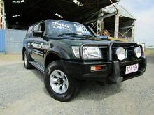 2002 Nissan Patrol GU III MY2002 ST Plus Green 5 Speed Manual Wagon Yeerongpilly Brisbane South West Preview