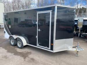 USED 2017 XPRESS 7' x 16' ALUMINUM ENCLOSED TRAILER